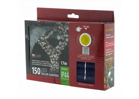 Solárna  vianočná LED reťaz TR 334 studená biela