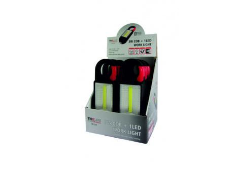 LED svietidlo s karabínou TR C219 3W COB + 1