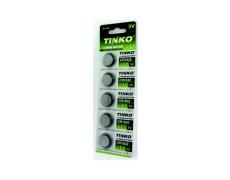 Lithiová knoflíková 3V baterie TINKO CR1632